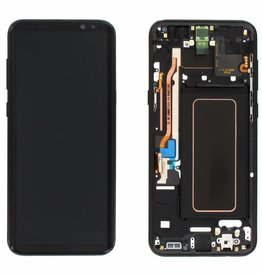 Samsung LCD DIGITIZER ASSEMBLY WITH FRAME SAMSUNG GALAXY S8 PLUS NOIR BLACK
