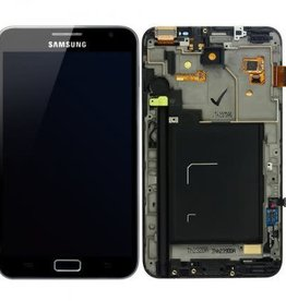 Samsung USAGÉ / USED LCD DIGITIZER ASSEMBLY WITH FRAME WHITE SAMSUNG GALAXY NOTE
