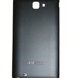 Samsung BACK COVER NOIR BLACK SAMSUNG GALAXY NOTE