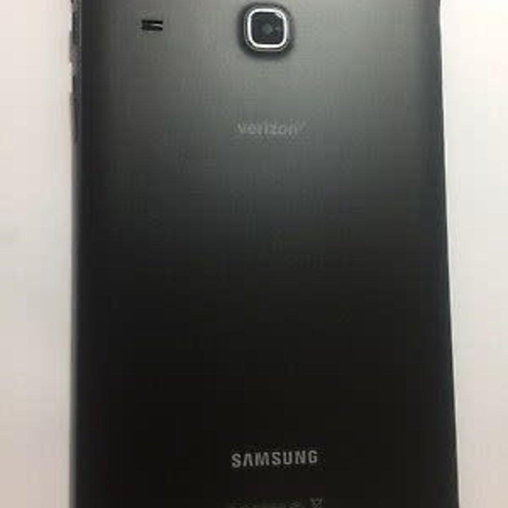 Samsung BACK COVER NOIR BLACK SAMSUNG TAB E 8'' T377