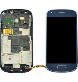 Samsung LCD DIGITIZER ASSEMBLY WITH FRAME POUR SAMSUNG GALAXY S3 MINI BLUE
