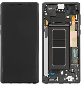 Samsung LCD DIGITIZER ASSEMBLY BLACK WHITH FRAME SAMSUNG GALAXY NOTE 9
