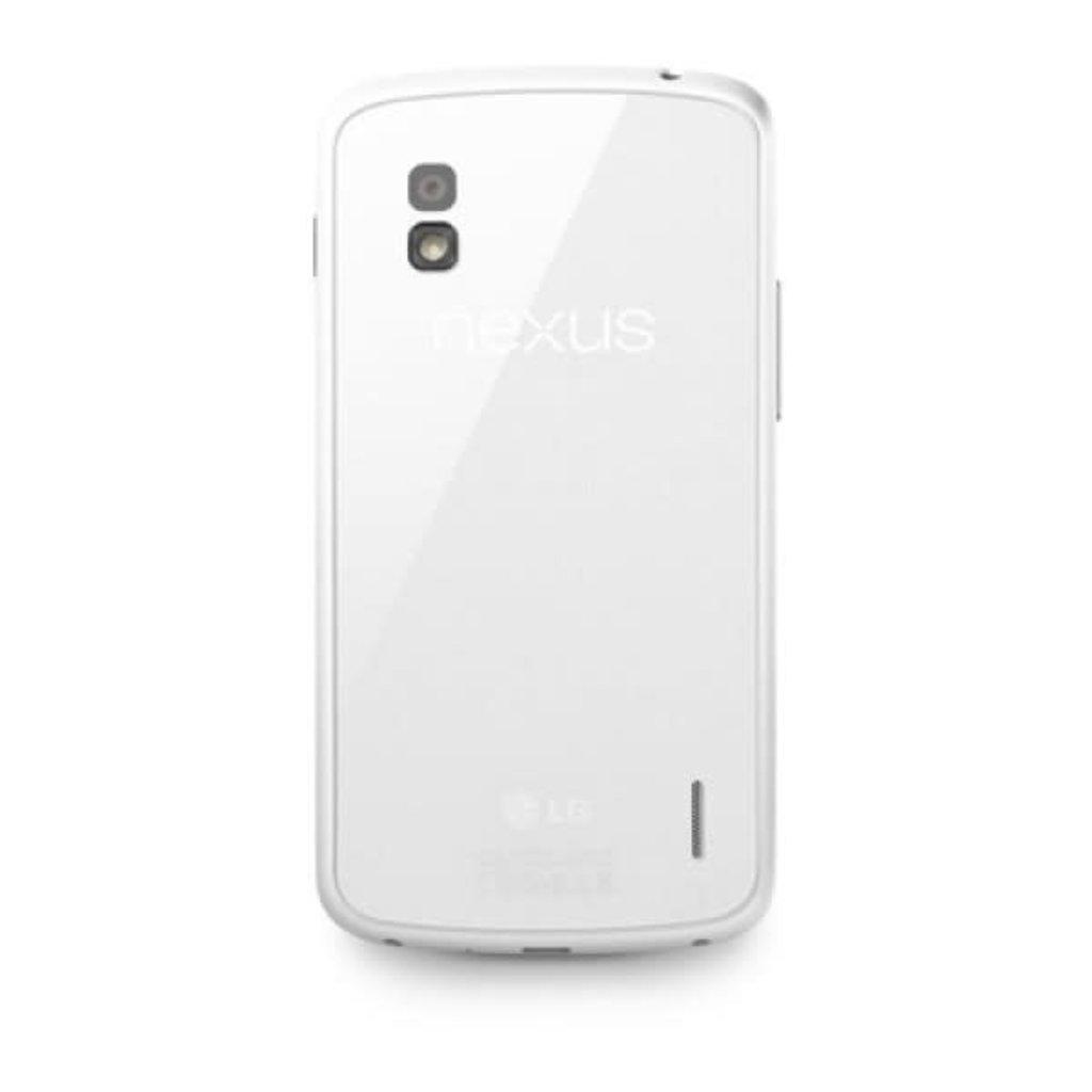 LG BACK COVER HOUSING WHITE BLANC LG NEXUS 4