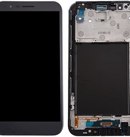 LG LCD DIGITIZER ASSEMBLY WITH FRAME GRAY LG STYLO 3 PLUS