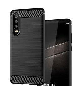 Huawei ÉTUI HUAWEI P30 CARBON BRUSH BLACK