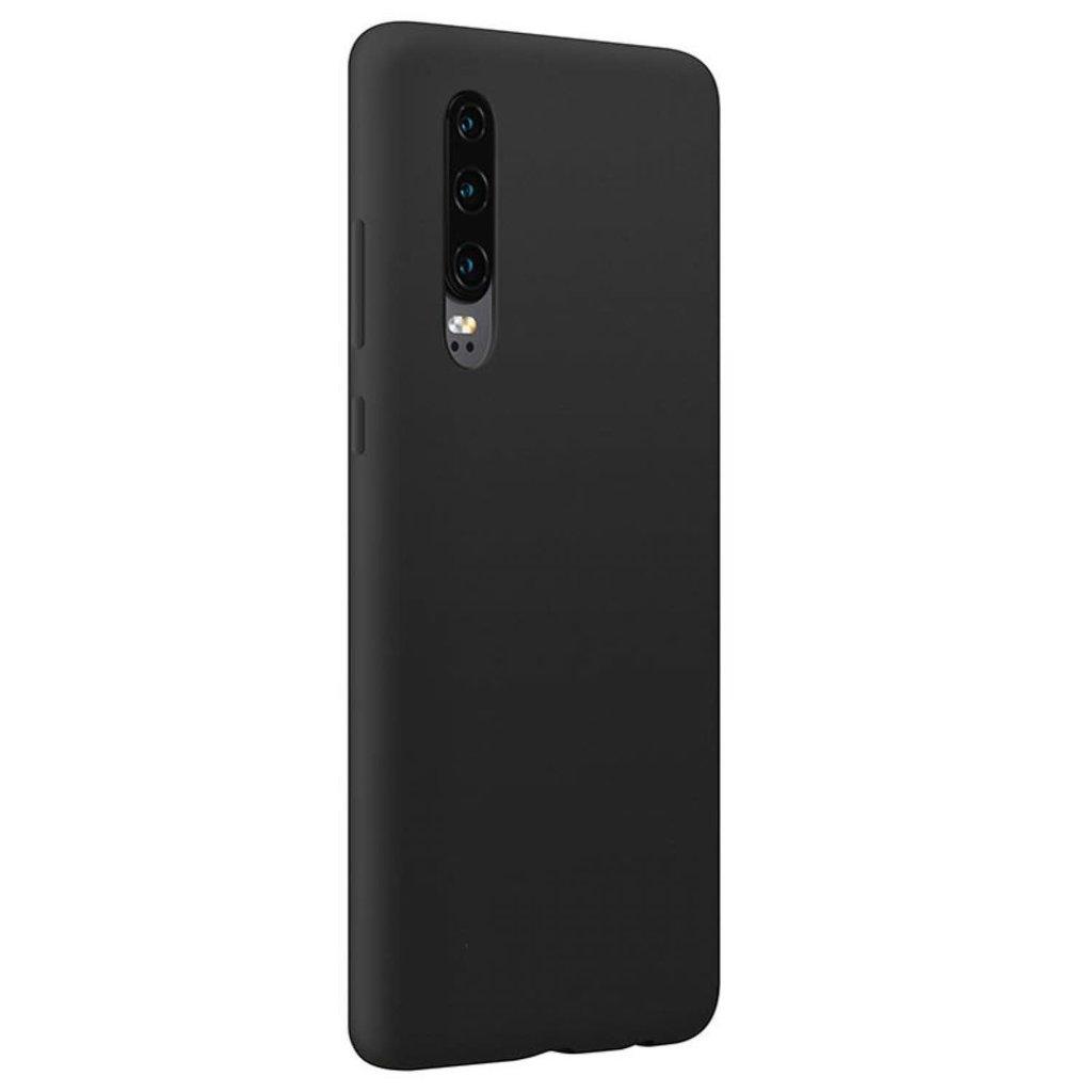 Huawei ÉTUI P30 SILICONE BLACK