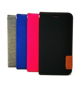 LG ÉTUI LG G7 ts Fabric Wallet Case with Magnetic Closure