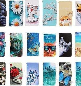 Samsung ÉTUI A20 / A30 / A50  Leather Wallet Cartoon Card Holder