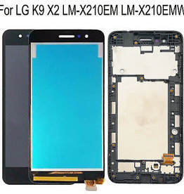 LG LCD DIGITIZER ASSEMBLY with frame LG K9