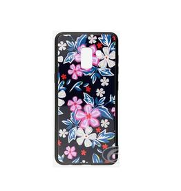 Samsung ÉTUI SAMSUNG A8 2018 Flowers glaze
