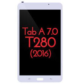 Samsung LCD DIGITIZER ASSEMBLY WHITE BLANC SAMSUNG TAB A 7' T280
