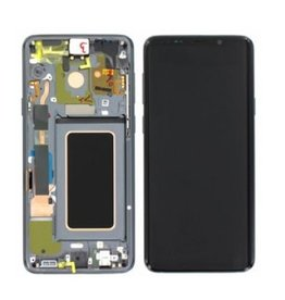 Samsung LCD DIGITIZER ASSEMBLY GRAY with frame SAMSUNG S9 PLUS