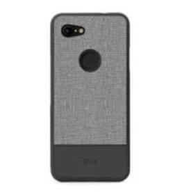 Google ÉTUI GOOGLE PIXEL 3A  Blu Element - Chic Collection Gray/Black
