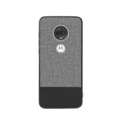 Motorola ÉTUI MOTO G7 Blu Element - Chic Collection Gray/Black