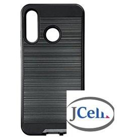Samsung ÉTUI SAMSUNG A20S Slim Sleek Brush Metal noir