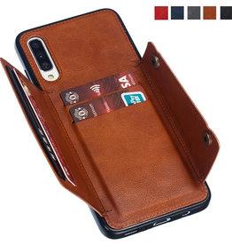 Samsung ÉTUI SAMSUNG A70 Wallet Leather Car Magnetic Card Holders