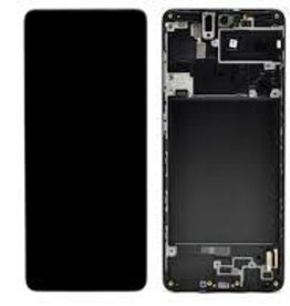 Samsung LCD assembly with frame for Samsung Galaxy A71 2020 A715 A715F