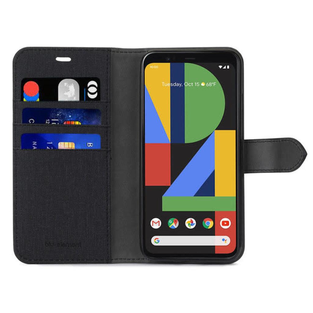 Google ÉTUI GOOGLE PIXEL 4 XL Blu Element - 2 in 1 Folio Black/Black