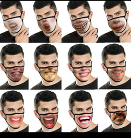 Funny mask smile 3D printing
