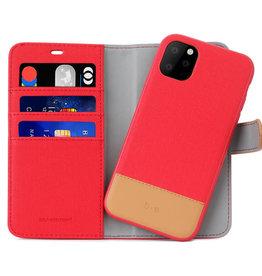 Apple ÉTUI IPHONE 11 PRO Blu Element 2 in 1 Folio Rouge/Butterum
