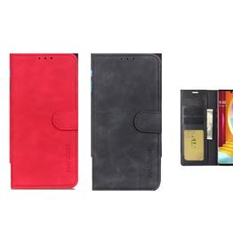 LG ÉTUI LG VELVET Book Style Wallet Premium