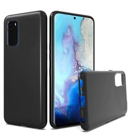 Samsung ÉTUI SAMSUNG S20  Silicone black noir