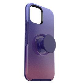 Étui IPhone 12 Pro Max Otterbox Symmetry PopTop PopUp mauve / violet