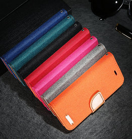 Apple Étui IPhone 12 /12 pro - Porte-feuille jeans