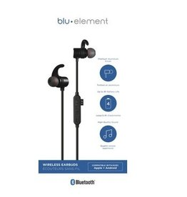 blu element ÉCOUTEURS BLUETOOTH - Blu Element  Earbuds Black