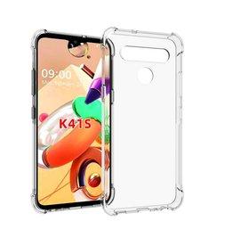 LG ÉTUI LG K41s SILICONE RUGGED HARD CLEAR