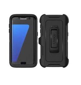 Samsung ÉTUI SAMSUNG S7 EDGE - Otterbox defender noir black