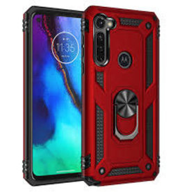Google ÉTUI GOOGLE PIXEL4A - Transformer Magnet Enabled Case with Ring Kickstand ROUGE