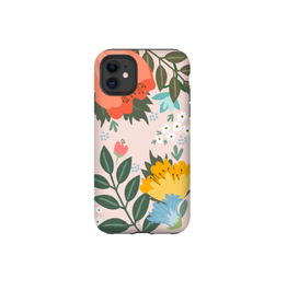 Samsung ÉTUI SAMSUNG GALAXY S21 PLUS - KaseMe pink flower