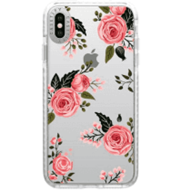 CASETIFY ÉTUI IPHONE XS MAX- Casetify - Impact Case Pink Floral Roses