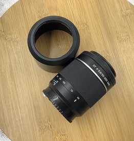 SONY Sony A 55-200mm F4-5.6 Lens With Hood Used EX