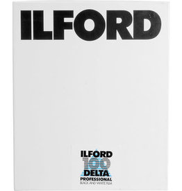 ILFORD DELTA 100-4X5 25 SHEETS