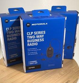 motorola Motorola CLP Series Two Way Business Radio Set of 3 Used EX+
