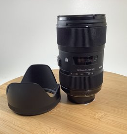 SIGMA Sigma 18-35mm F1.8 Art Lens For Nikon Used EX