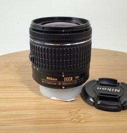 NIKON Nikon AF-P Nikkor 18-55mm f3.5-5.6 G VR Lens Used EX+