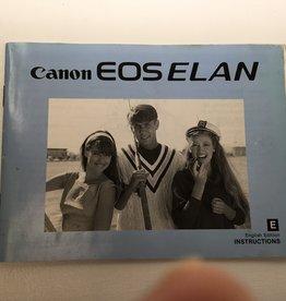 CANON Canon EOS Elan Original Manual Used EX