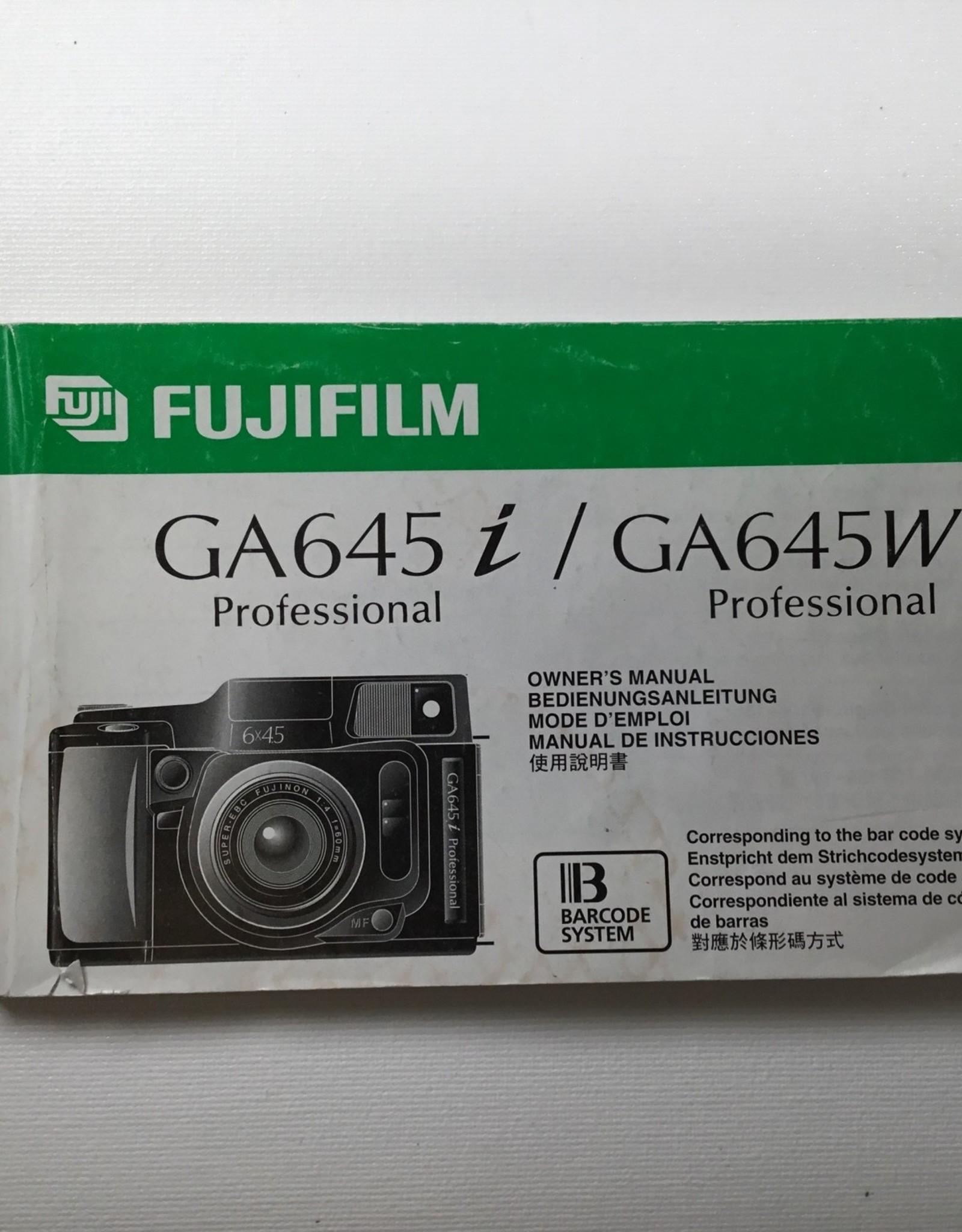 FUJI Fuji GA645i Original Manual Used EX