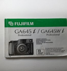 FUJI Fuji GA645i Original Manual Used EX