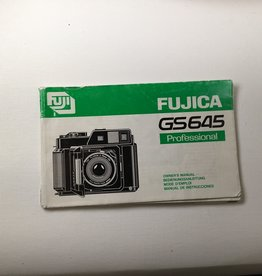 FUJI Fuji GS645 Original Manual Used EX