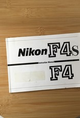 NIKON Nikon F4 F4s Original Manual Used EX