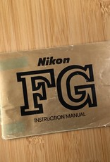 NIKON Nikon FG Original Manual Used EX