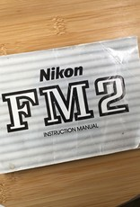 NIKON Nikon FM2 Original Manual Used EX