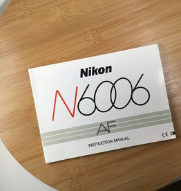 Leica Nikon N6006 Original Manual Used EX