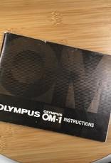 OLYMPUS Olympus OM-1 Original Manual Used EX
