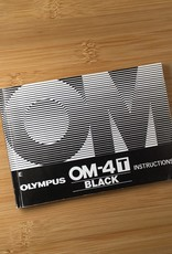 OLYMPUS Olympus OM-4T  Black Original Manual Used EX