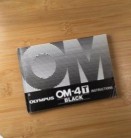 OLYMPUS Olympus OM-4T  Black Original Manual Used EX